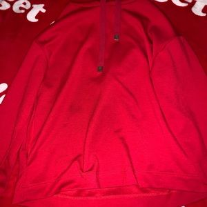 Forever 21 red hoodie